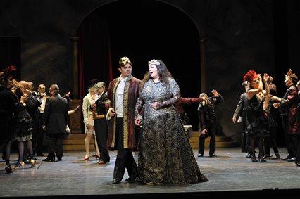 Giuseppe Verdi: Ein Maskenball/ R Volker Vogel / A Norbert Bellen/ ML Roland Kluttig / Premiere: 26.10.2013 / Landestheater Coburg