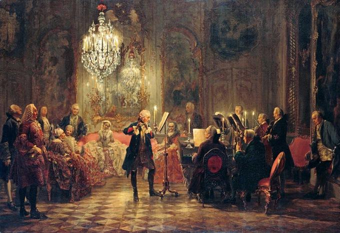 Adolph_Menzel_-_Flötenkonzert