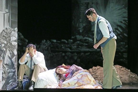 Giacomo Puccini: La Bohème/ ML Roland Kluttig/ R KS Brigitte Fassbaender/ B u K Bettina Munzer/ Premiere 13. Juni 2015/ Landestheater Coburg